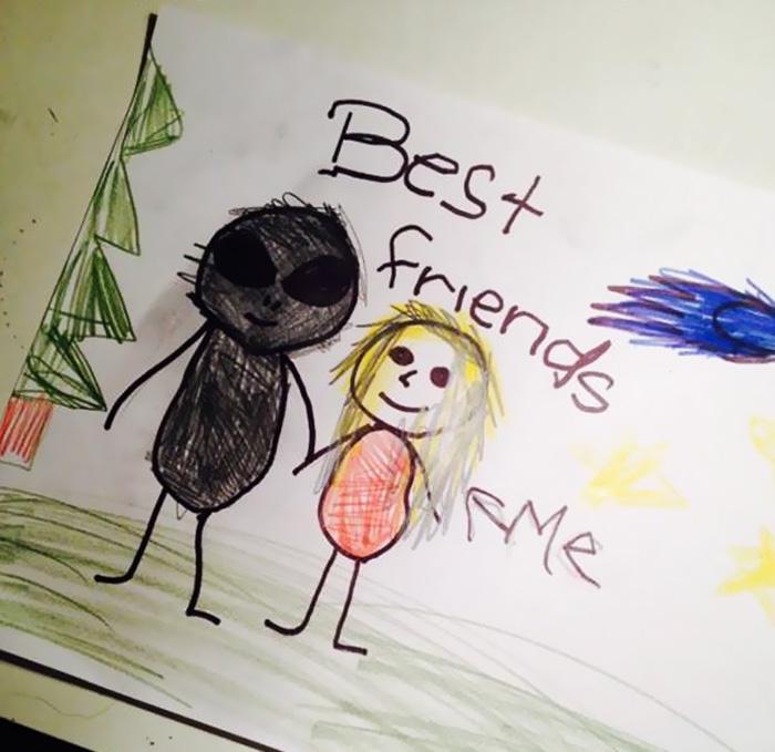 creatività bambini, disegno