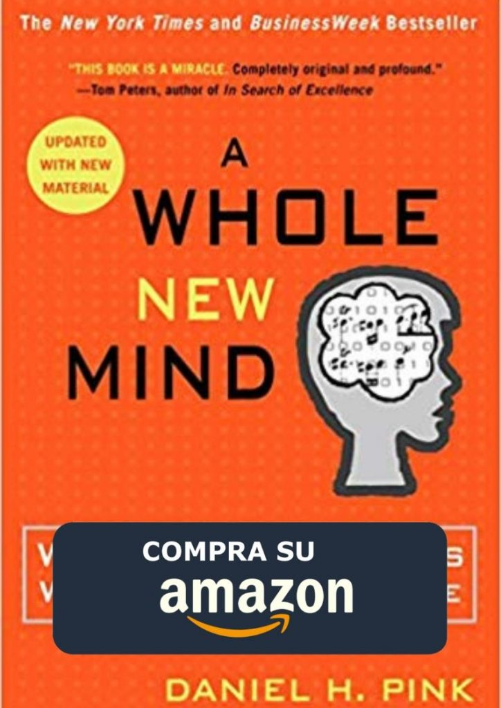 A whole new mind copertina libro, Daniel H.Pink