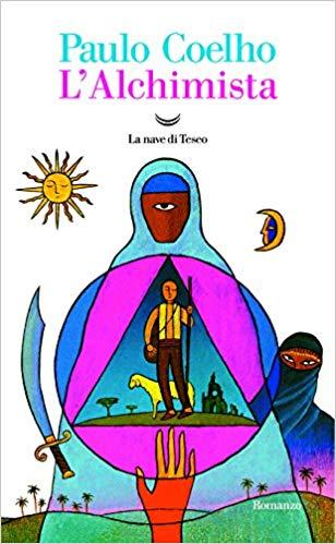 Paulo Coelho, L'alchimista copertina