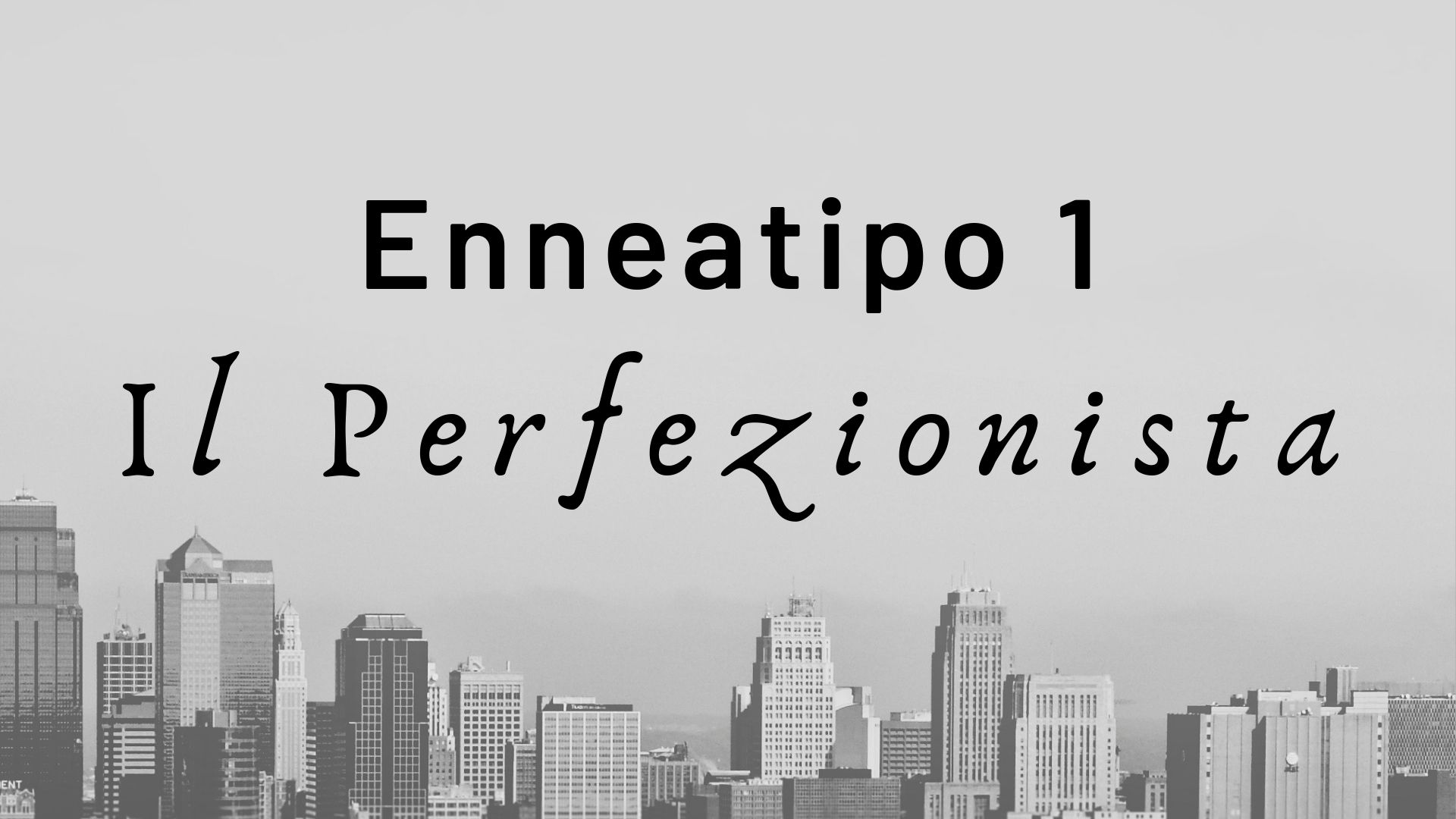 enneatipo 1